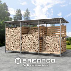 Brennholzregal gefertigt in Handarbeit, feuerverzinkt, Stahl und VA Edelstahl, Ein Lager wie dein Kaminholz es sich wünscht. Divider, Room, Furniture, Home Decor, Fireplace Logs, Home And Garden, Fire, Stainless Steel, Handarbeit