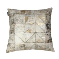 Patchwork Triangles Cushion | Mumo | Wolf & Badger
