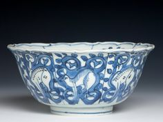 RP: Chinese export porcelain bowl, c. 1600, Wanli reign, Ming dynasty