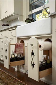 Kitchen storage ~ love!