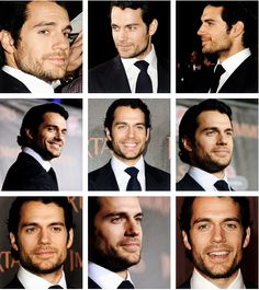 Henry Cavill. Oh those Immortals Premiere pictures....