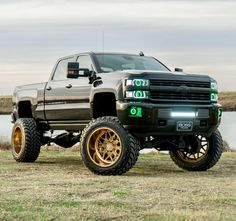 without the gay ass rims put some swampers on the bitch with american force! Jacked Up Chevy, Lifted Chevy Trucks, Gm Trucks, Jeep Truck, Chevrolet Trucks, Diesel Trucks, Cool Trucks, Chevy 2500hd, Chevrolet Silverado 2500