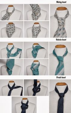 Here are some ideas how to tie a necktie if you can't. Just watch carefully the pictures, follow the instructions and you will be able to do it on your own. Do not feel embarrassed – many men can't do... Tie A Necktie, Tie A Tie, Diy Fashion, Womens Fashion, Fashion Tips, Cool Diy Projects, Handmade Clothes, Swagg, Just In Case