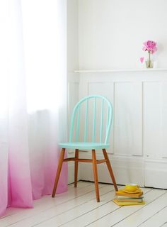 Pastel shades at home
