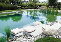 Casa e Jardim - NOTÍCIAS - 10 piscinas naturais incríveis