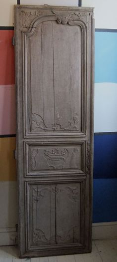 old door      Hmmmmm...could be used as wall decor, or a headboard or....?
