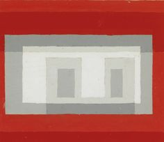 Adolph Gottlieb (USA 1903-1974)Study for a Variant II / Study for Adobeoil and graphite on paper 24.8 x 30.5cm