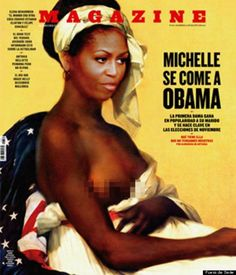 Beyond Speechless: Artistic Depiction of Michelle Obama Offensive In So Many Ways
