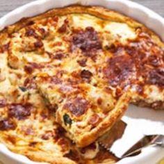 Broileripiirakka Hawaiian Pizza, No Bake Cake, Quiche, Feta, Bakery, Food And Drink, Breakfast, Recipes, Baking Cakes
