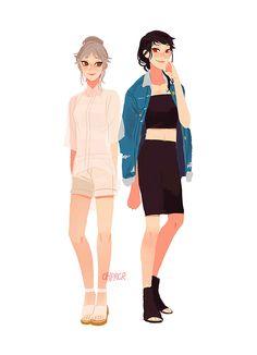 Suga and Daichi