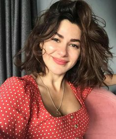 Image discovered by Dee️♡. Find images and videos about girl, hair and beauty on We Heart It - the app to get lost in what you love. Turkish Beauty, Haircut And Color, Cute Beauty, Female Actresses, Turkish Actors, Minimal Fashion, Woman Face, Portrait, Pretty People