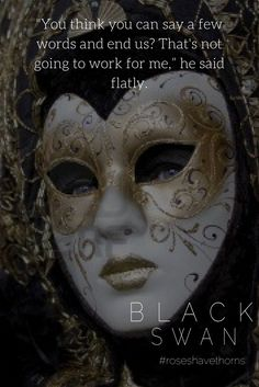 #blackswan #roseshavethorns #idesofmarch