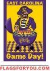 Game Day - East Carolina Garden Flag House Flags, Garden Flags, Pirates, Game, Venison, Games