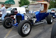Ford Model T Blue | Flickr - Photo Sharing!