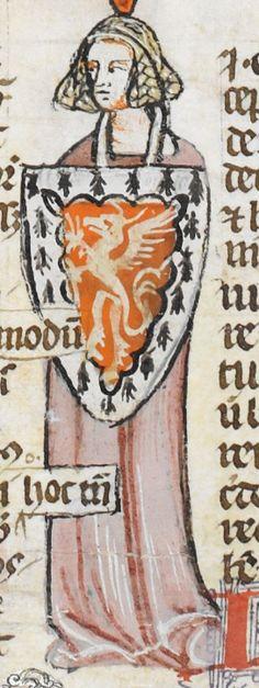 Royal MS 10 E IV Date c 1300-c 1340 Title Decretals of Gregory IX with gloss of Bernard of Parma (the 'Smithfield Decretals') Detail Folio 179v