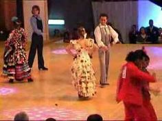 Flamenco Sevillanas - Spain's national champions 2005