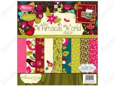 "Petersen-Arne: DieCuts Stacks Paper 12""x 12"" Whimsical World"