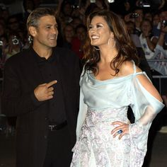 George Clooney and Catherine Zeta-Jones hit the red carpet for Intolerable Cruelty in 2003.