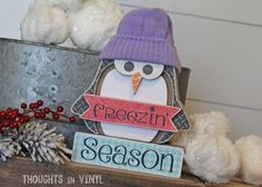 Freezin' Season You won't have to freeze to order this cute craft... you can order it here!