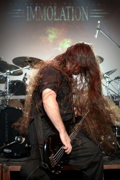 Ross Dolan of Immolation group