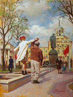 Мазур Николай. Весна (487x650, 81Kb)