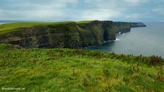 She's the longest coastal driving route in all of Europe, snaking km mi) around, through and over jagged-rock defenses that do battle against the powerful Atlantic Ocean along Ir… Cliffs Of Moher, Atlantic Ocean, Places To See, Ireland, Travel Destinations, Coastal, Battle, Europe, Adventure