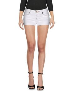 PHILIPP PLEIN Denim shorts. #philippplein #cloth #dress #top #skirt #pant #coat #jacket #jecket #beachwear #