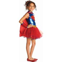 Costume fille Supergirl tutu (3-4 ans)