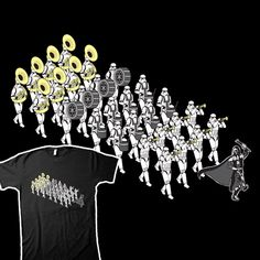 Must order for my Star Wars fan, marching band geek son. He will Love it