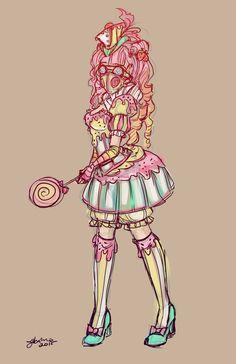 Cupcakepunk Sketch by NoFlutter on DeviantArt