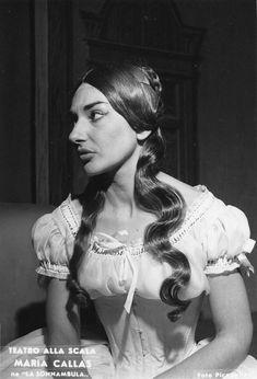 Maria Callas - Amina (Milan, 1955)