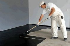 Learn how to paint a concrete floor with professional results with the instructions and tips in this practical diy painting and decorating guide.