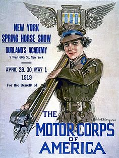 American WW1 recruiting poster.