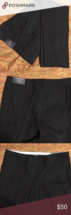 NWT Ann Taylor black trousers 'Modern' fit 10P. Straight leg Ann Taylor Pants Straight Leg