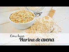 Básico: Cómo hacer HARINA DE AVENA fácil y rápido | Auxy Ordónez - YouTube