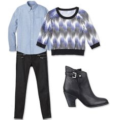6 Ways to Wear Pieces From Your Boyfriend's Closet - Boyfriend Piece: His Oxford Shirt from #InStyle