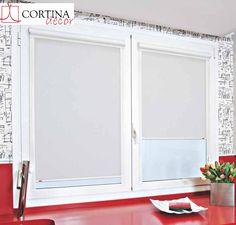 Estores Corti Glass, disponibles en mas de 40 colores.