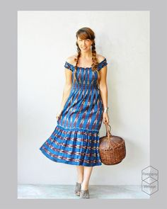 vintage sundress / Guatemalan print dress by FiregypsyVintage, $54.25