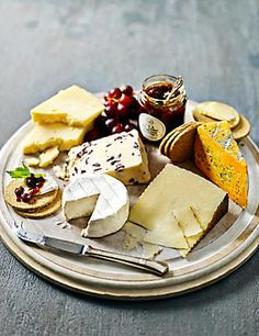 Cheese & Chutney Selection