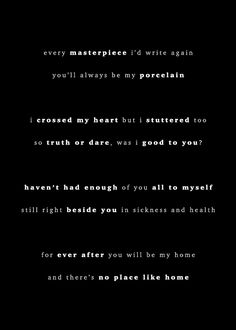 Marianas Trench - Dearly Departed Lyrics  Love this part. ❤