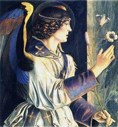 L'arcangelo Gabriele Venice, Basilica dei SS Giovanni e Paolo GIOVANNI BELLINI  (Venezia, 1433 circa – Venezia, 26 novembre 1516)     #TuscanyAgriturismoGiratola