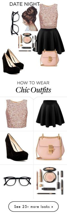 """""""Untitled #54"""" by destinee-seib on Polyvore featuring Nine West and Chloé"""