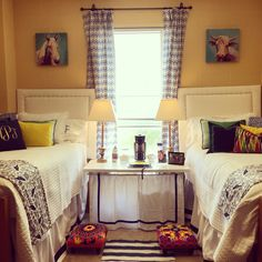 Baird's dorm room in Crosby Hall at Ole Miss Fall 2015.