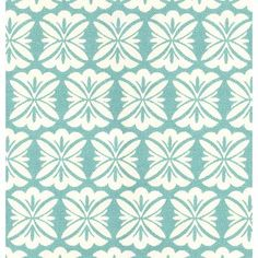 Terrace Fabric in Aquamarine (Patterned Pattern, brand fabric) | Imported Patterned Fabrics from Company C