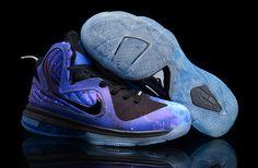 fdbf7138d42 Nike Lebron 9 Cheap Blue Black Grey Nike Trainers
