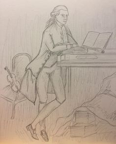 Studie Thomas Gainsborought Johan Christian Fischer 32 x 41 cm Binnenkort in het #rijksmuseumtwenthe , de originele . #gainsborough #fisher #sketch #pencildrawing #draw #dream #hengelo #twente #drawing #dutchartist #dutchpainter #holland #english #england #rijksmuseumtwenthe #rijksmuseum