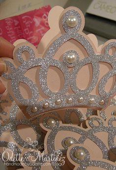 Crown Invitation Princess Crown