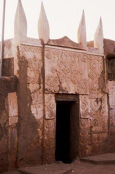 Architecture houssa, Zinder, Niger