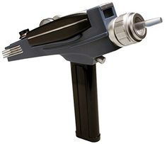 Diamond Select Toys Star Trek The Original Series Black Handle Phaser