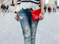 Rank & Style - Best Distressed Jeans Under $200 #rankandstyle
